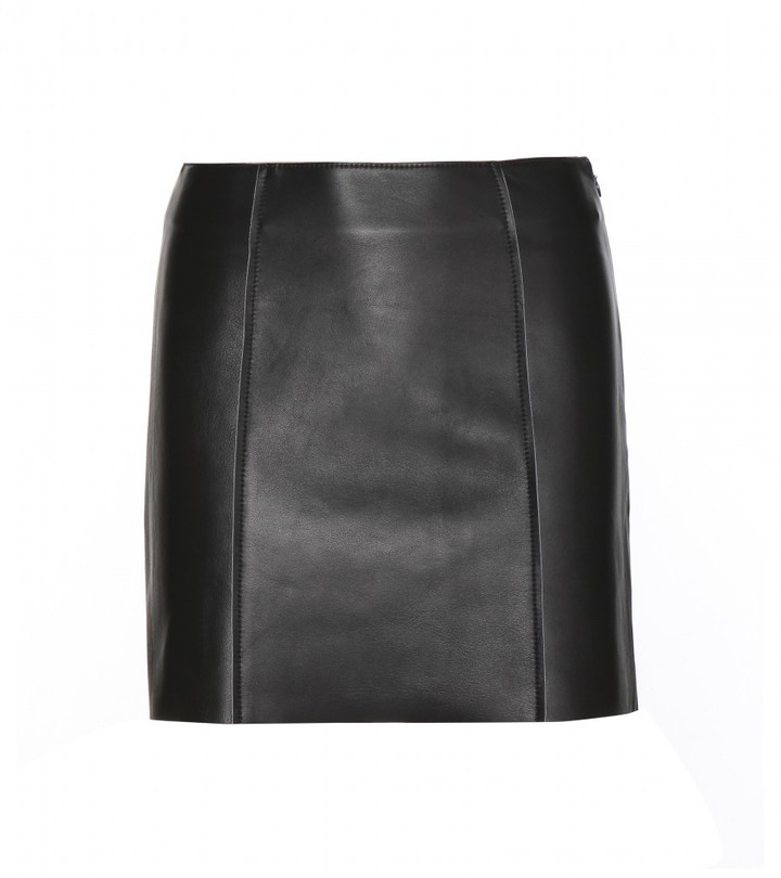T by Alexander Wang Leather miniskirt