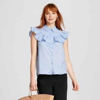 Who What Wear Women's Sleeveless Pioneer Shirt - Who What Wear $24.99 thestylecure.com