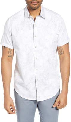 Robert Graham Dragon Fire Classic Fit Cotton Shirt