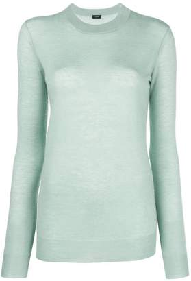 Joseph sheer round neck sweater