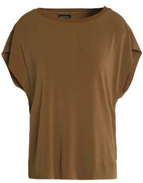 By Malene Birger Draped Cutout Crepe Shirt