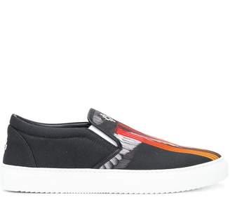 Marcelo Burlon County of Milan Wings slip-on sneakers