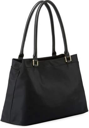 Iconic American Designer Belfast Dressy Nylon Shopper Tote Bag