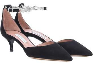 Tabitha Simmons Tyler Chain kitten heel pumps
