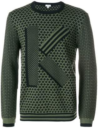 Kenzo jumper with all-over print