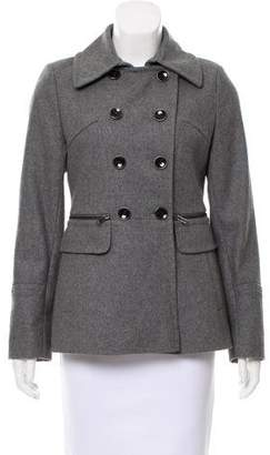 DKNY Double-Breasted Wool-Blend Jacket