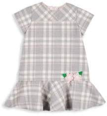 Florence Eiseman Little Girl's Plaid Twill Dress