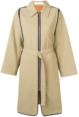 See by Chloe zipped trench coat