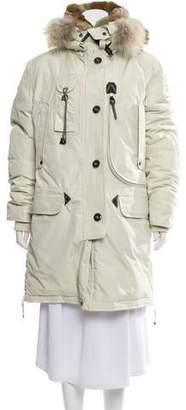 Parajumpers Fur-Trimmed Kodiak Coat