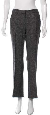Christian Dior Mid-Rise Wool Pants