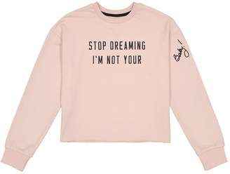 La Redoute COLLECTIONS Printed Cropped Sweatshirt, 10-16 Years