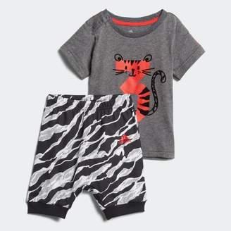 adidas (アディダス) - I FUN Tシャツ上下セット B