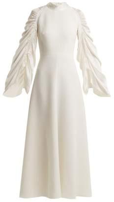 Roksanda Zariah Self Tie Silk Dress - Womens - Ivory