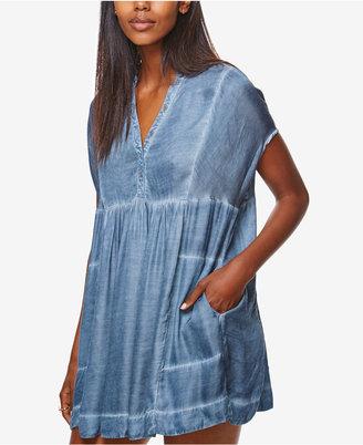 Free People Rowan Mini Shift Dress $108 thestylecure.com