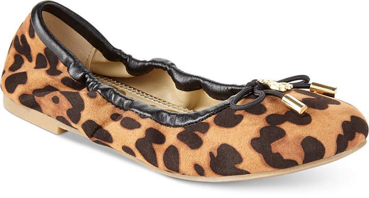 Sam Edelman Felicia Cheetah Print Ballet Flats, Little Girls (11-3) and Big Girls (3.5-7)