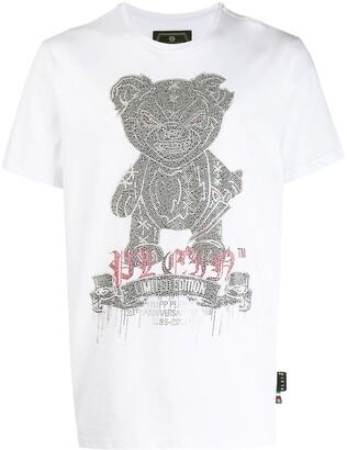Philipp Plein teddy print T-shirt