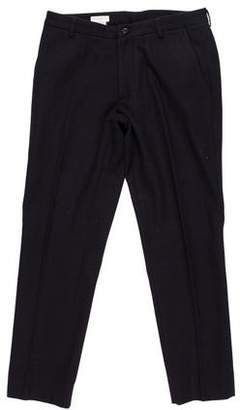 Dries Van Noten Flannel Wool Pants
