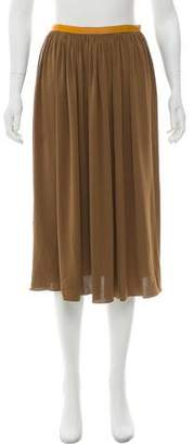 Costello Tagliapietra Pleated Midi Skirt