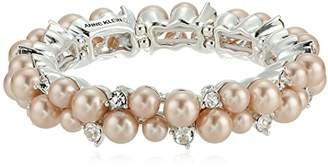 Anne Klein Cluster Stretch Bracelet