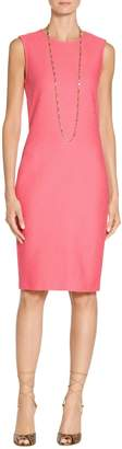 St. John Hannah Knit Sheath Dress