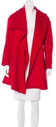 Lanvin Draped Knee-Length Coat