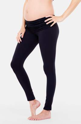 Ingrid & Isabel R) 'Active' Maternity Leggings with Crossover Panel