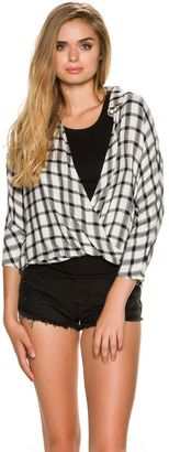 Rvca Commander Flannel Shirt $64.95 thestylecure.com