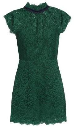 Sandro Raquel Cotton-Blend Corded Lace Playsuit