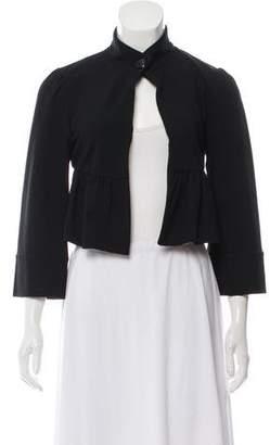 Diane von Furstenberg Cropped Nedia Jacket