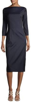 Prada Linea Rossa Women's Boatneck Sheath Dress