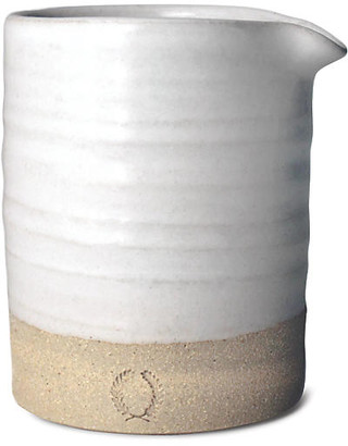 Silo Creamer - Natural/White - Farmhouse Pottery