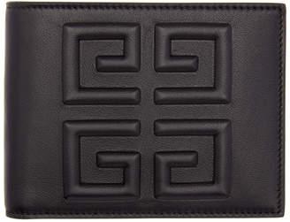 Givenchy Black Debossed 4G Wallet