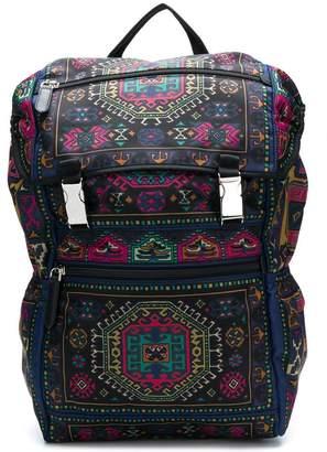 Etro patterned backpack