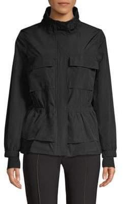 Donna Karan Zip Front Jacket