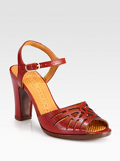Chie Mihara Twsited Leather Sandals