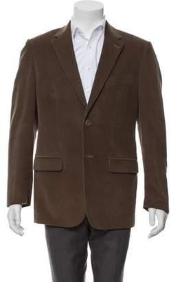 Valentino Wool & Mohair Blend Corduroy Blazer