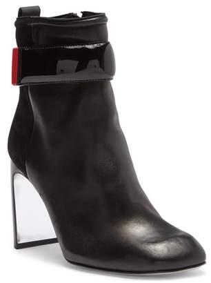 Rag & Bone Ellis Leather Block Heel Boot