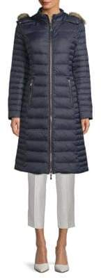 Kate Spade Faux Fur-Trimmed Parka
