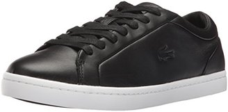 Lacoste Women's Straightset 316 1 Caw Fashion Sneaker $45.46 thestylecure.com