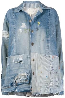 Greg Lauren boxy studio jacket