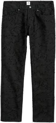 H&M Jacquard-patterned Pants - Black