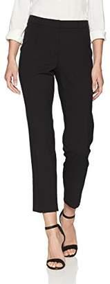 Ellen Tracy Women's Pintuck Ankle Pant