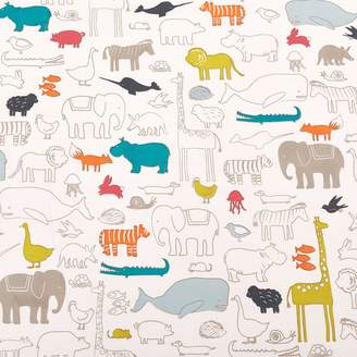 ABC Home Noah's Ark Crib Sheet