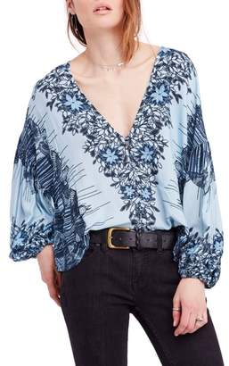 Free People Birds of a Feather Top