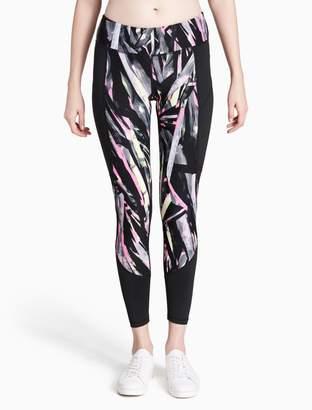Calvin Klein explosion printed leggings
