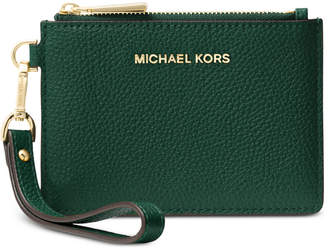 Michael Kors Mercer Pebble Leather Coin Purse