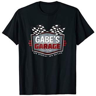 Gabe's Garage T-shirt - Funny Car Guy - My Tools My Rules