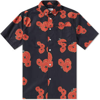 Saturdays NYC Short Sleeve Bruce Floater Shirt