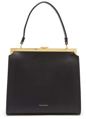 Mansur Gavriel Elegant Leather Bag - Womens - Black