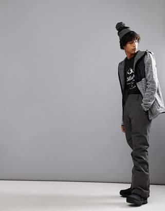 Billabong Lowdown Snow Pants in Dark Gray